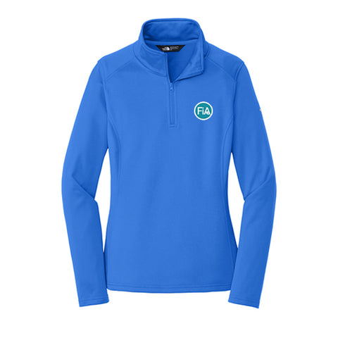 FiA The North Face Ladies Tech 1/4-Zip Fleece - Made to Order