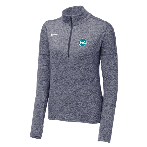 FiA Nike Ladies Dry Element 1/2-Zip Cover Up - Made to Order