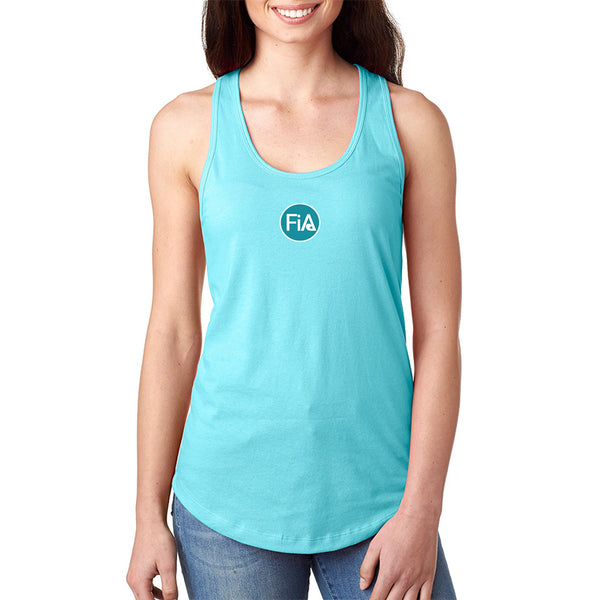 FiA Strong OH - Next Level Ideal Racerback Tank Pre-Order