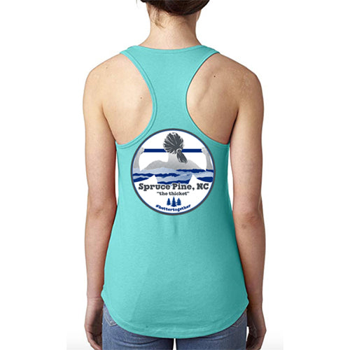 FiA Spruce Pine Next Level Ideal Racerback Tank Pre-Order