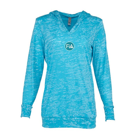 FiA Tallahassee Next Level Women's Burnout Hoody Pre-Order