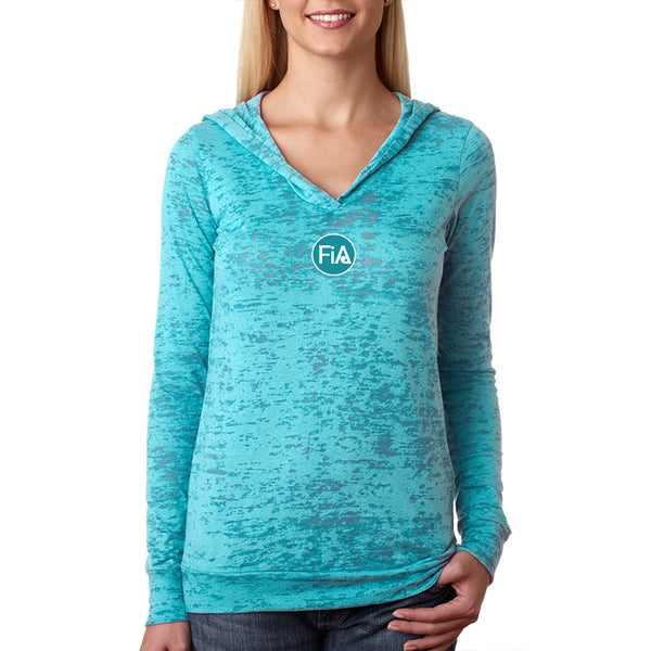 FiA Field of Dreams Next Level Women's Burnout Hoody Pre-Order