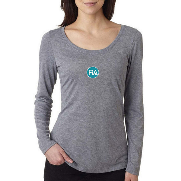 FiA Strong - Virginia Next Level Ladies Triblend LongSleeve Scoop Tee Pre-Order