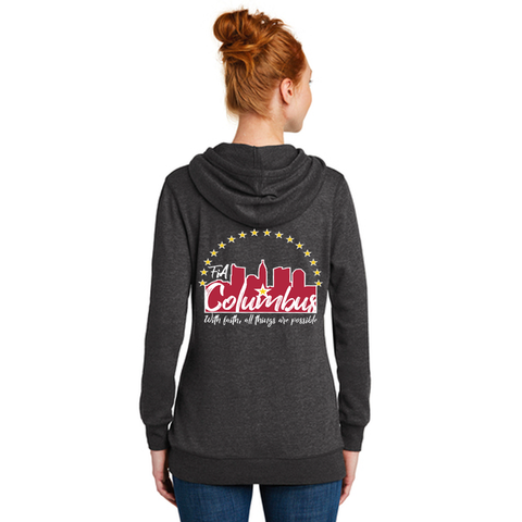 FiA Columbus District Women's Lightweight Fleece Hoodie Pre-Order