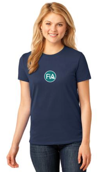 FiA Winston-Salem Port & Company Ladies Short Sleeve Cotton Tee Pre-Order