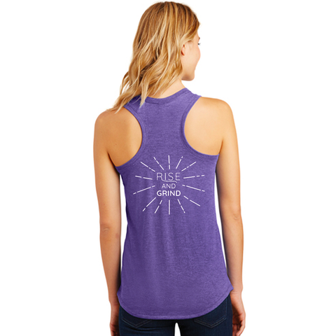FiA Rise and Grind District Women's Perfect Tri Racerback Tank Pre-Order