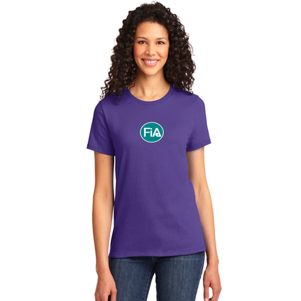 FiA Rise and Grind Port & Company Ladies Essential Tee Pre-Order