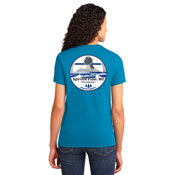 FiA Spruce Pine Port & Company Ladies Essential Tee Pre-Order