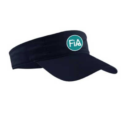 FiA Embroidered Visor - Made to Order