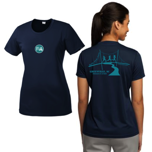 FiA Greenville Sport-Tek Women's Short Sleeve Tee Pre-Order