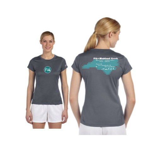 FiA Highland Creek NB Tempo Ladies Performance Short Sleeve Tee Pre-Order