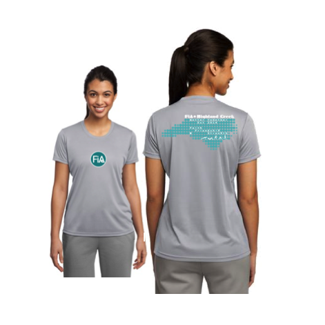 FiA Highland Creek Sport Tek Women's Performance Tee Pre-Order