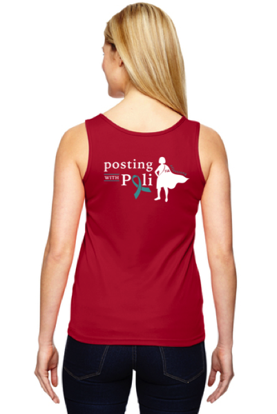 FiA Posting with Poli Augusta Ladies' Tank Pre-Order