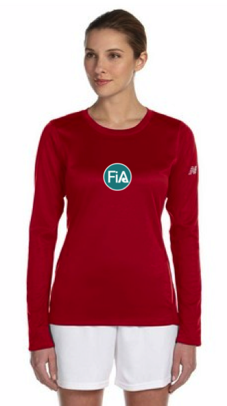 FiA Posting with Poli New Balance Performance Long Sleeve Pre-Order