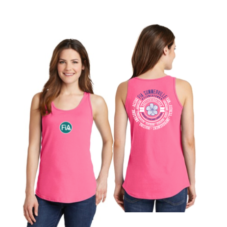 FiA Summerville 2016 Port & Company Cotton Tank Pre-Order