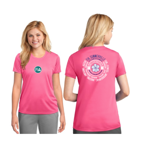 FiA Summerville 2016 Port & Company Ladies Performance Tee Pre-Order