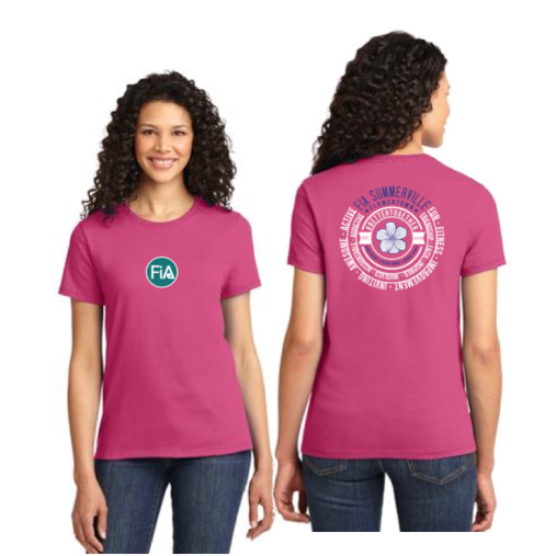 FiA Summerville 2016 Port & Company Ladies Essential Tee Pre-Order