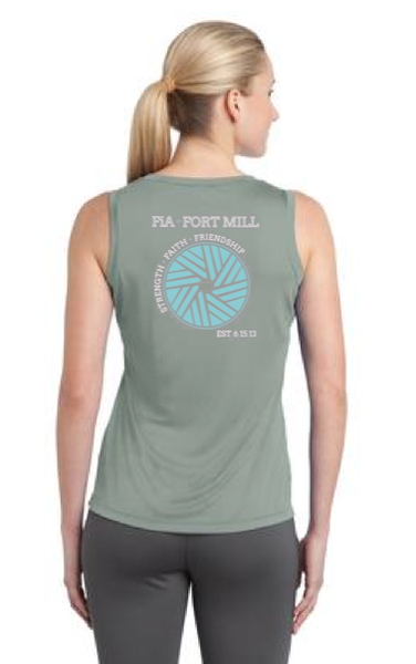 FiA Fort Mill Sport-tek Ladies Competitor V-Neck Tee Pre-Order