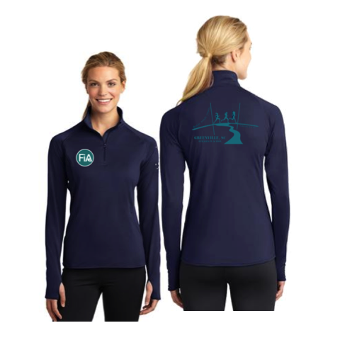 FiA Greenville Sport-Tek Ladies Sport-Wick Stretch 1/2-Zip Pullover Pre-Order