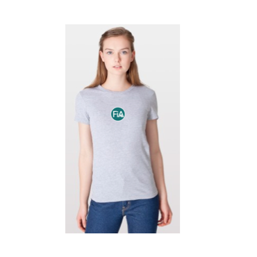 FiA Trot in the Dark American Apparel Ladies' Fine Jersey Tee Pre-Order