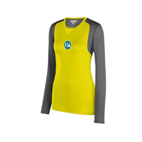 FiA Running Wild Augusta Ladies' Astonish Long Sleeve Jersey Pre-Order