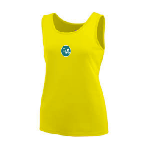 FiA Trot in the Dark Augusta Ladies Wicking Tank Top Pre-Order