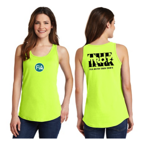 FiA Trot in the Dark Port & Company Ladies Cotton Tank Top Pre-Order
