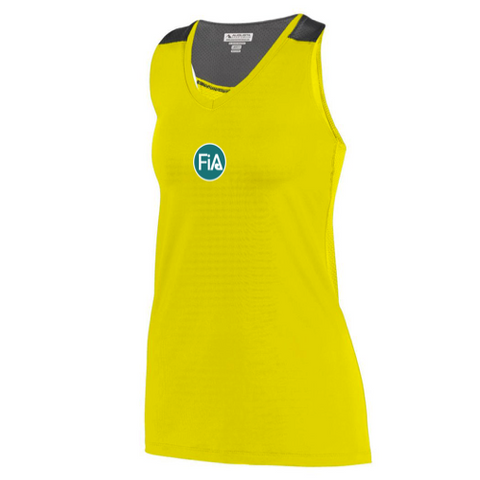 FiA Running Wild Augusta Ladies Astonish Tank Pre-Order