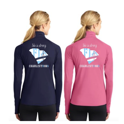 FiA Charleston Sport-Tek Ladies Sport-Wick Stretch 1/2-Zip Pullover Pre-Order