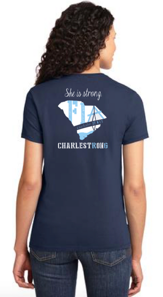 FiA Charleston Port & Company Ladies Essential Tee Pre-Order