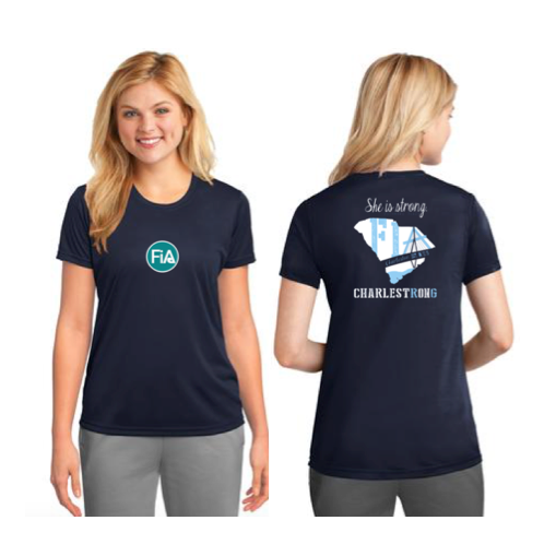 FiA Charleston Port & Company Ladies Performance Tee Pre-Order
