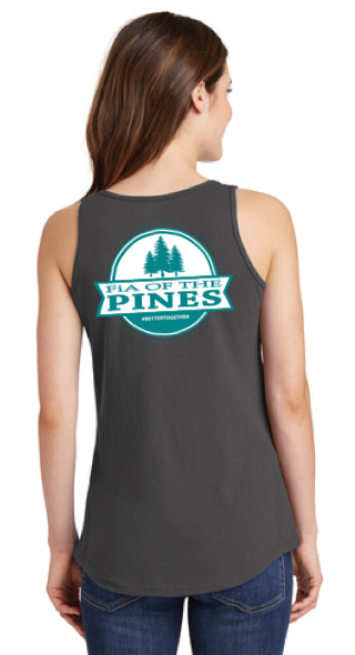 FiA of the Pines Ladies Cotton Tank Top Pre-Order