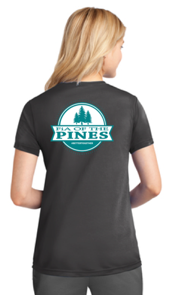 FiA of the Pines Port & Company Ladies Performance Tee Pre-Order