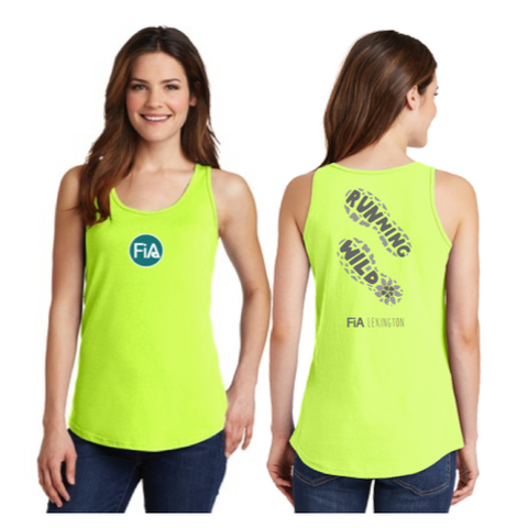FiA Running Wild Port & Company Ladies Cotton Tank Top Pre-Order
