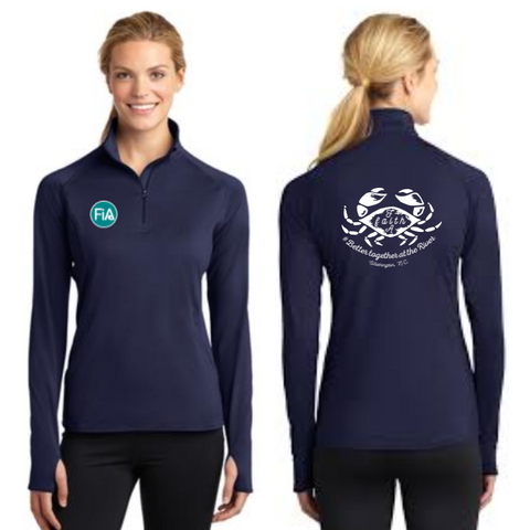 FiA Washington Sport-Tek Ladies Sport-Wick Stretch 1/2-Zip Pullover Pre-Order