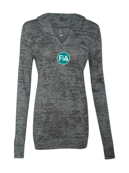 FiA South Charlotte Next Level Women's Burnout Hoody Pre-Order