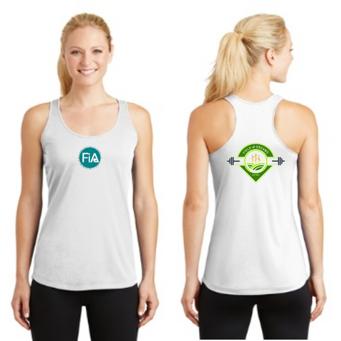 FiA Field of Dreams Sport-Tek Ladies Competitor Racerback Tank Pre-Order