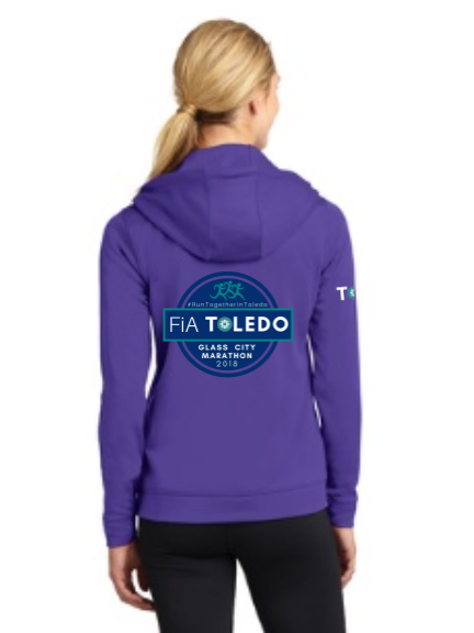 FiA Toledo: The Glass City Marathon Sport-Tek Ladies Sport-Wick Fleece Full-Zip Hooded Jacket Pre-Order