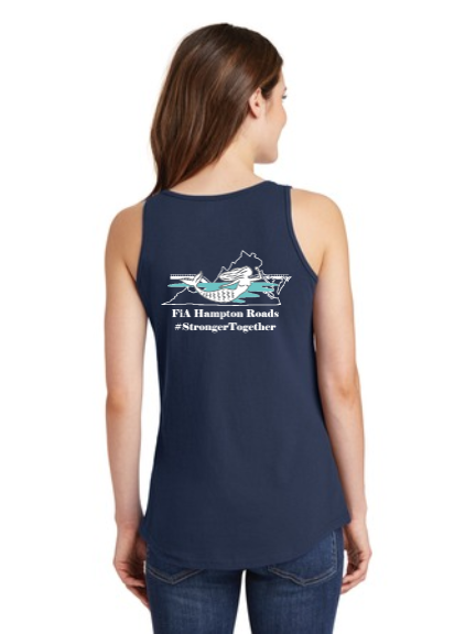 FiA Hampton Roads Ladies Cotton Tank Top Pre-Order