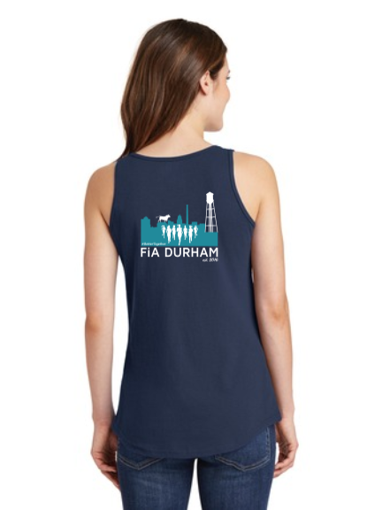 FiA Durham Ladies Cotton Tank Top Pre-Order