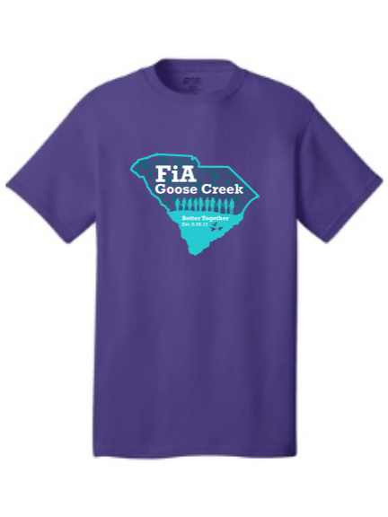 FiA Goose Creek: Why We FiA - Port & Company - Core Cotton Tee Pre-Order