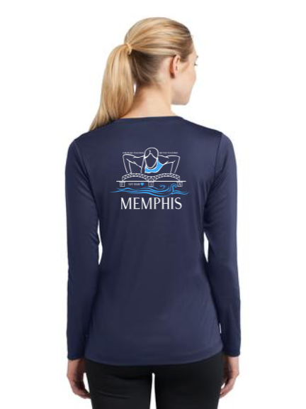 FiA Memphis Sport-Tek Ladies Long Sleeve Competitor V-Neck Tee Pre-Order