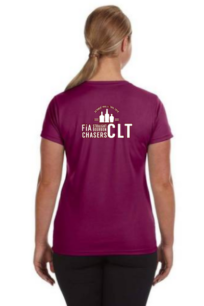 FiA ENC Greenville Port & Company Ladies Long Sleeve Cotton Tee Pre-Order