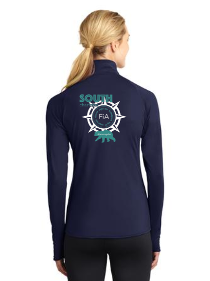 FiA South Charlotte Sport-Tek Ladies Sport-Wick Stretch 1/2-Zip Pullover Pre-Order