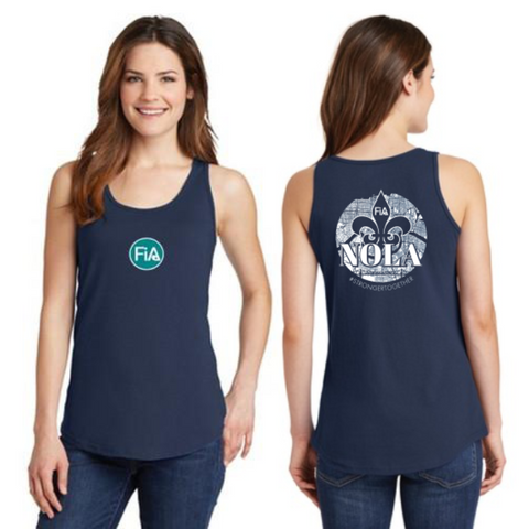 FiA NOLA Ladies Cotton Tank Top Pre-Order