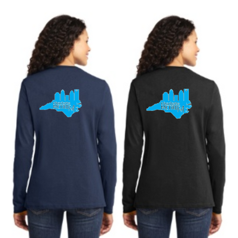 FiA Metro Port & Company Ladies Long Sleeve Cotton Tee Pre-Order