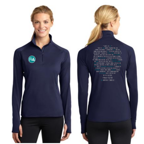 FiA TN - Northeast (Johnson City) Sport-Tek Ladies Sport-Wick Stretch 1/2-Zip Pullover Pre-Order