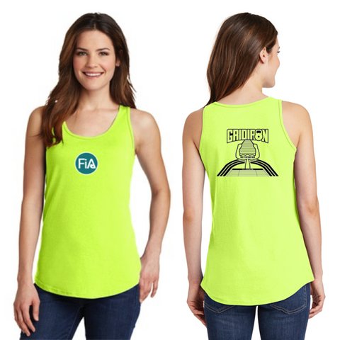 FiA Gridiron Port & Company Ladies Cotton Tank Top Pre-Order