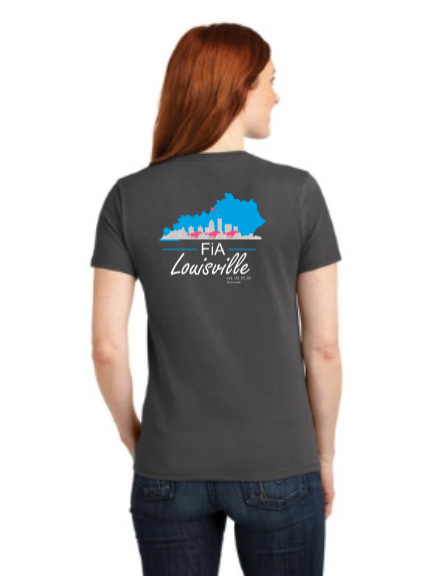 FiA KY Louisville Port & Company Ladies Core Blend Tee Pre-Order