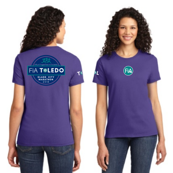 FiA Toledo: The Glass City Marathon Port & Company Ladies Essential Tee Pre-Order